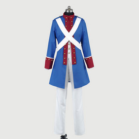 Axis Powers Hetalia America Military Uniform(Civil War)Cosplay Costume