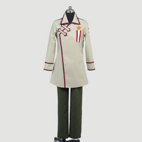 Hetalia Russia Military Uniform Cosplay Costume
