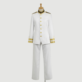 Hetalia Japan Military Uniform Revision Cosplay Costume