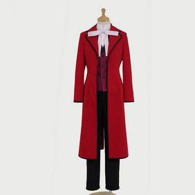 Black Butler Kuroshitsuji Gureru Sutcliffe Cosplay Costume