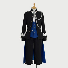 Black Butler Kuroshitsuji Ciel Phantomhive Episode15 Cosplay Costume
