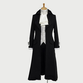 Black Butler Kuroshitsuji Sebastian Episode16 Cosplay Costume