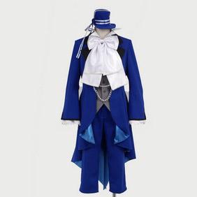 Black Butler Kuroshitsuji Ciel Phantomhive Episode 3 Cosplay Costume