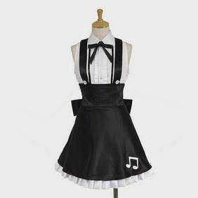 Hatsune Miku Project DIVA Hatsune Miku Gothic  world is mine Cosplay Costume