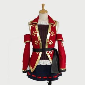 Hatsune Miku Project DIVA Pirate Cosplay Costume
