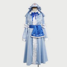 Touhou Project Yuyuko Saigyouji Cosplay Costume