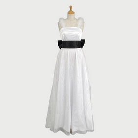 Hatsune Miku Cendrillon White Dress Cosplay Costume