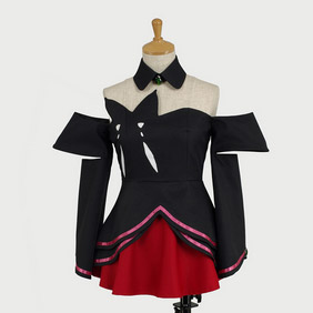 Kiddy Grade Qfeuille Cosplay Costume