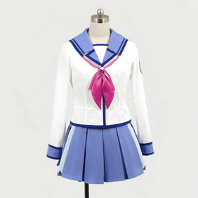 Angel Beats! SSSUniform yuri/sekine/irie/hisako/yusa Cosplay Costume