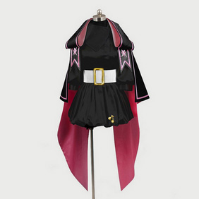 Macross Frontier The False Songstress Black Cosplay Costume