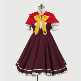 Ookamisan and Seven Companions Akai Ringo Cosplay Costume