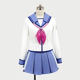 Angel Beats! SSSUniform Irie Cosplay Costume