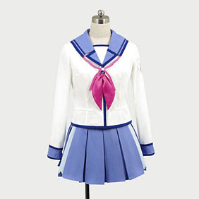 Angel Beats! SSSUniform Sekine Cosplay Costume
