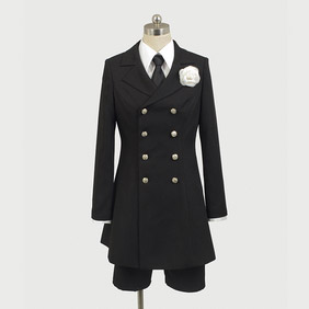 Black Butler Kuroshitsuji 2 Ciel Phantomhive (the livery of woe) Cosplay Costume