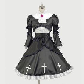 俺の妹がこんなに可愛いわけがない 黒猫 コスプレ衣装 ゴシック服 ドレス