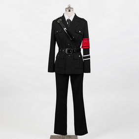 Togainu No Chi Shiki Military Uniform Cosplay Costume