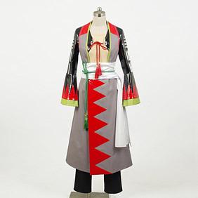Hakuouki 2010calendar Okita Souji Cosplay Costume