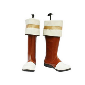THE LEGEND OF HEROES SORA NO KISEKI Kurz Nardin PU Leather Cosplay Boots