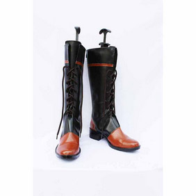 Black Butler Kuroshitsuji Ciel Phantomhive(multitude ver) PU Leather Cosplay Boots