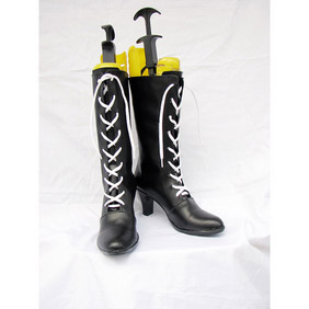 Black Butler Kuroshitsuji Ciel Phantomhive(illustration ver) PU Leather Cosplay Boots
