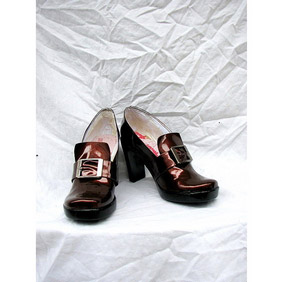 Black Butler Kuroshitsuji Ciel Phantomhive PU Leather Cosplay Shoes