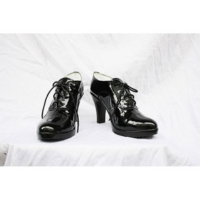 Black Butler Kuroshitsuji Gureru Sutcliffe PU Leather Cosplay Shoes