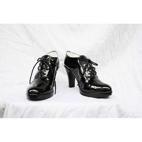 Black Butler Kuroshitsuji Gureru Sutcliffe PU Leather Cosplay Shoes