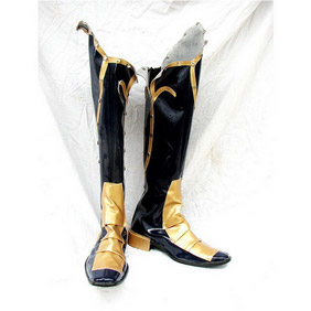 Castlevania Hector PU Leather Cosplay Boots