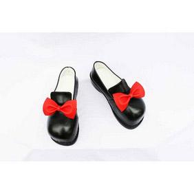 Touhou Project Scarlet Weather Rhapsody Ibuka Suika PU Leather Cosplay Shoes