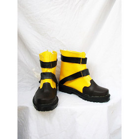 Final Fantasy X-2 Shuyin Cosplay PU Leather Shoes