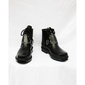 Final Fantasy VIII Squall Leonhart PU Leather Cosplay Shoes