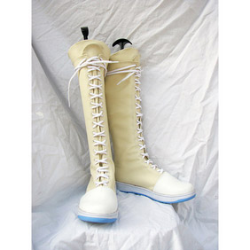 Final Fantasy VII Yuffie Kisaragi PU Leather Cosplay Boots