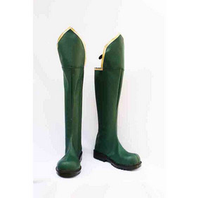 Trinity Blood PU Leather Cosplay Boots