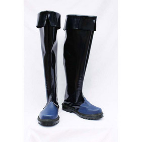 Tegami Bachi Letter Bee Gauche Patent Cosplay Boots
