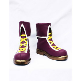 THE KING OF FIGHTERS 2002 Athena Asamiya PU Leather Cosplay Shoes