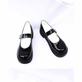 Umineko no Naku Koro ni Shannon Patent Cosplay Shoes