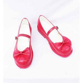 Umineko no Naku Koro ni Lambdadelta Patent Cosplay Shoes