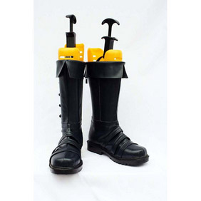 Axis powers Hetalia APH Prussia PU Leather Cosplay Boots