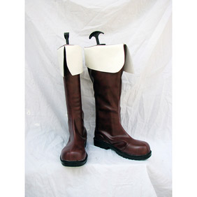 Axis powers Hetalia APH Italia Veneziano France PU Leather Cosplay Boots