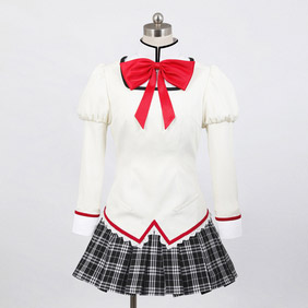 Puella Magi Madoka Magica Uniform Black feMale Cosplay Costume