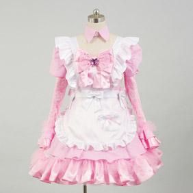 オリジナル衣装 フレーバーピンクロリータ コスプレ衣装