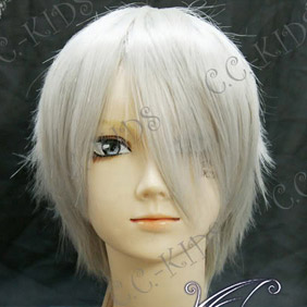 White 30cm Axis Powers Axis Powers Hetalia Russia Short Nylon Straight Cosplay Wig