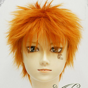 Orange Bleach Kurosaki Ichigo Short Nylon Cosplay Wig