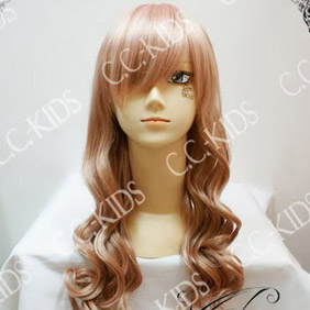 Pink  DOLLS Aikawa  Rami Long Nylon Wavy Cosplay Wig
