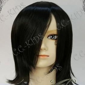 Black DOLLS Kurose  Mizuki Mid-Long Nylon Cosplay Wig