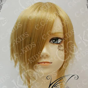 Blonde  DOLLS Kamijyou Riku Short Nylon Cosplay Wig