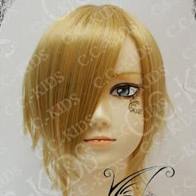 Blonde  DOLLS Kamijyou Riku Short Nylon Cosplay Wig