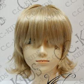 Blonde  DOLLS Kubou Ayane Short Nylon Cosplay Wig