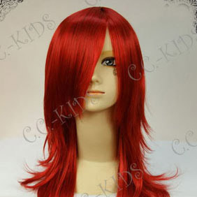 Red D.Gray-man Timcanpi Long Nylon Cosplay Wig