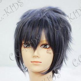 Blue Final Fantasy Versus XIII  Noctis Lucis Caelum Short Nylon Cosplay Wig